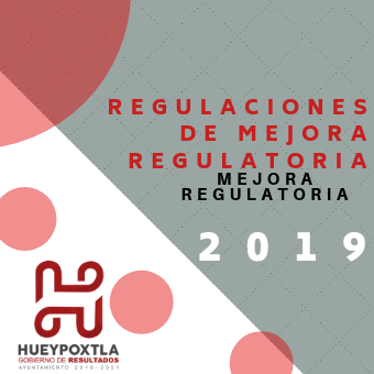 REGULACIONES DE MEJORA REGULATORIA