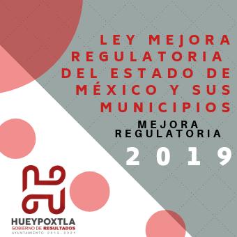 Ley para mejora regulatoria